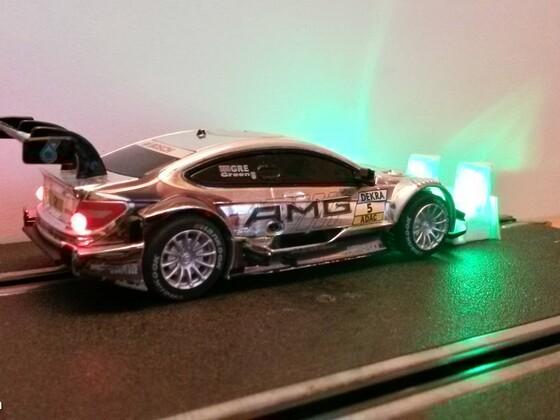 LED in DTM Audi und Mercedes