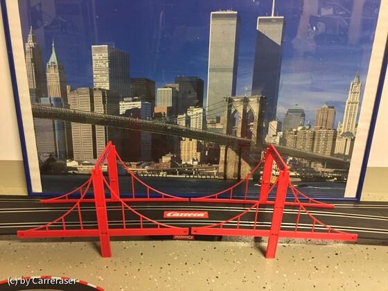 Carrera Brücke mit Skyline von Manhattan