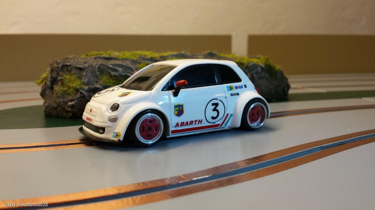 Fiat 500 Breitbau REPAINTED