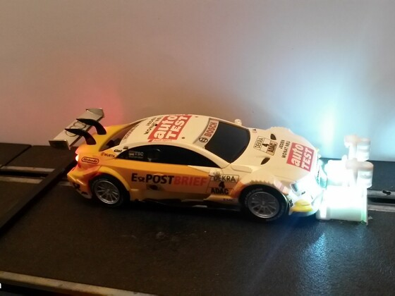 LED in DTM Audi und Mercedes